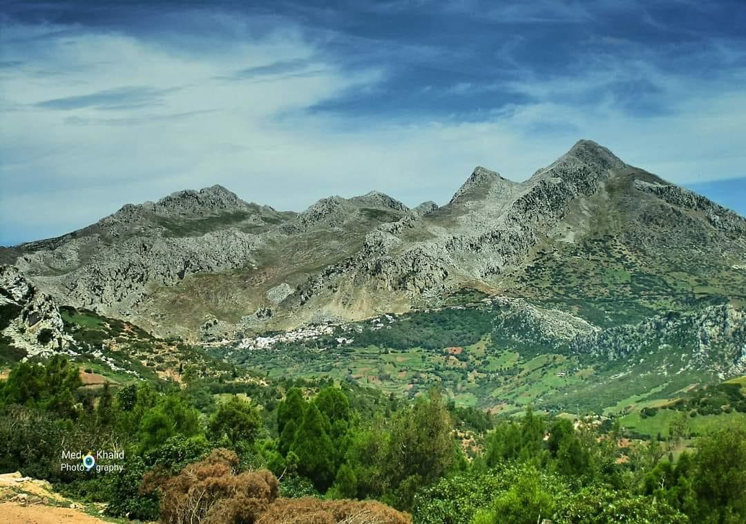 جبال حوز تطوان وقرية العنصر شمال مدينة تطوان
