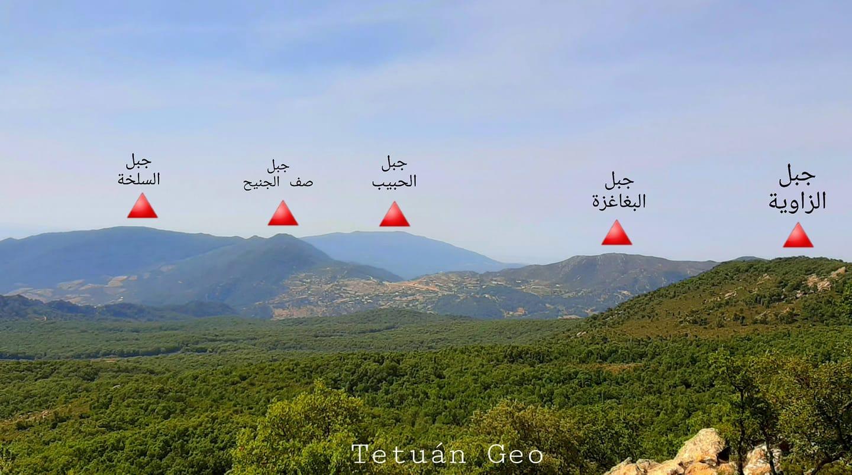 جبال بني يدر