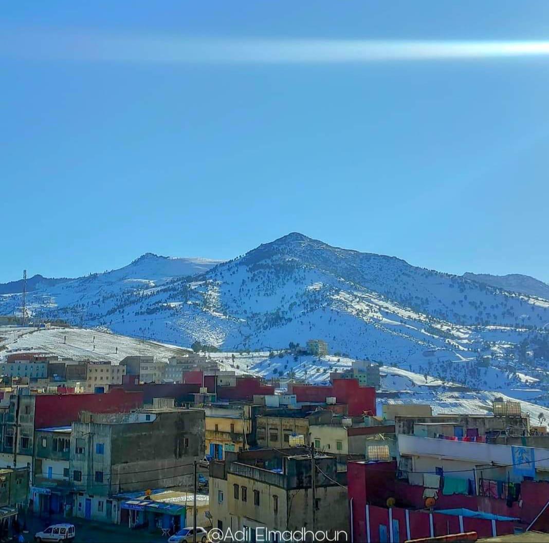 الصورة من أوفاس مركز جماعة بني رزين إقليم الشاون