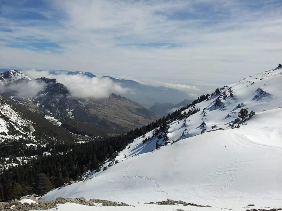 الصورة من سفوح جبل لقرع إقليم الشاون شمال المغرب