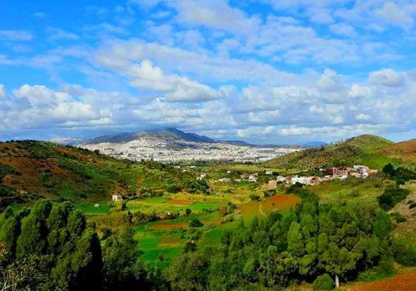 الصور من محيط قرية كيتان بني حزمار عمالة تطوان