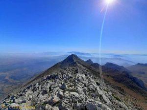 الصور من قمة الجبل الأبيض جبال حوز تطوان
