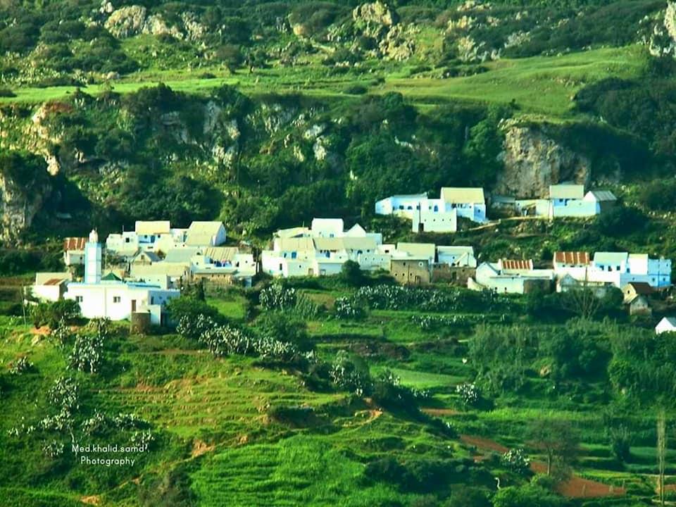الصورة من قرية السرور بحوز تطوان ، محمد خالد صمد وأبو همام الدين حمدان .